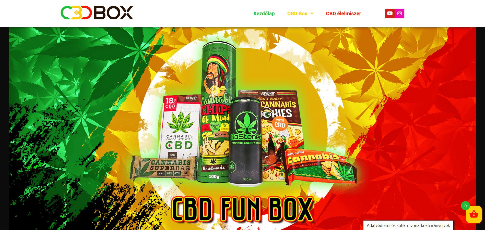 CBD Fun Box webáruház
