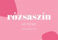 rózsaszín színtervezés