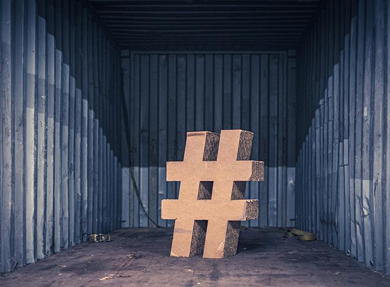 hashtagválasztás