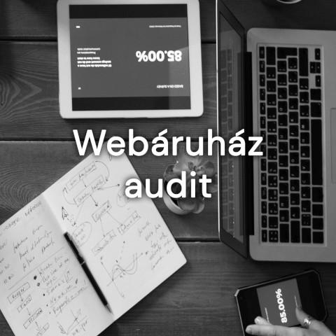 Online marketing ügynökségünk része a Webáruház audit