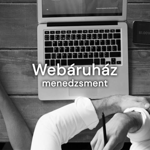 Online marketing ügynökségünk része a webáruház menedzsment